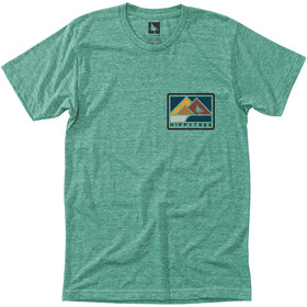 Hippy Tree Vancouver T-Shirt Heren, heather green